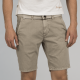 PME legend cotton linen dobby chino short l. fog