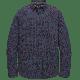 PME Legend l/s shirt poplin print true navy