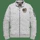 PME Legend zip sweat jacket light grey melange